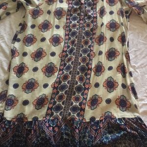 Boho dress or tunic